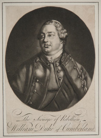 The Scourge of Rebellion. William Duke of Cumberland.