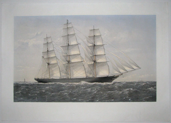 "[Clipper Ship ""Ambassador"", A.1. 16 Years."