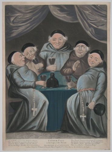 Father Paul in his Cups, or the Private Devotion of a Convent.  [&]  Father Paul disturbed, or the Lay Brother reprov'd.