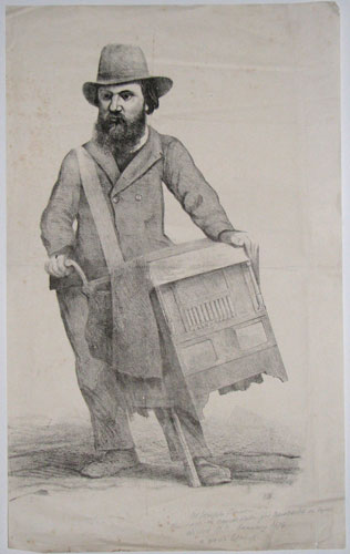 [In pencil underneath image:] Mr Joseph Cowen the radical candidate for Newcastle on Tyne elected M.P January 1874 a good likeness.