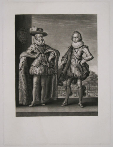 [Denmark] [Christian IV and Prince Frederick.]