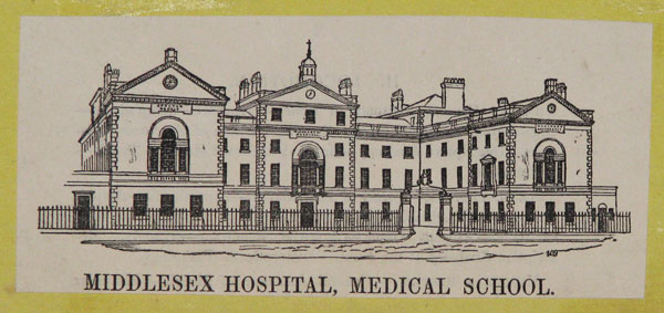 Middlesex Hospital, Medical School.
