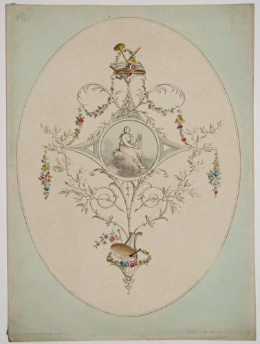 [Ornamental flower plate.] No 33.