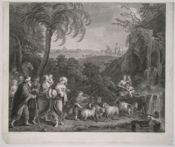 [The Departure of Abram and Lot from Egypt.]