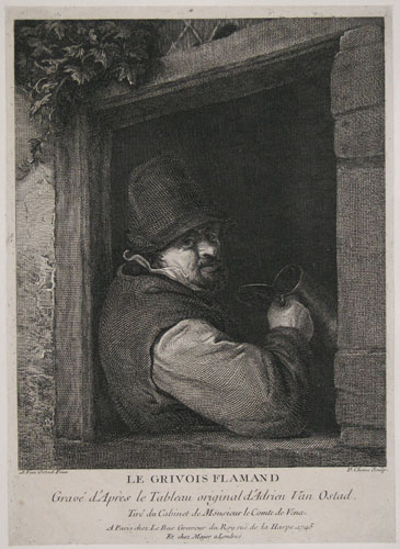 Le Grivois Flamand. [The Flemish Drinker.]