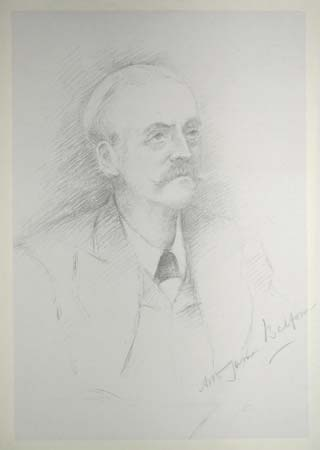 The Rt Hon. Arthur James Balfour [with signature]