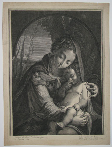 [Virgin and Child.]