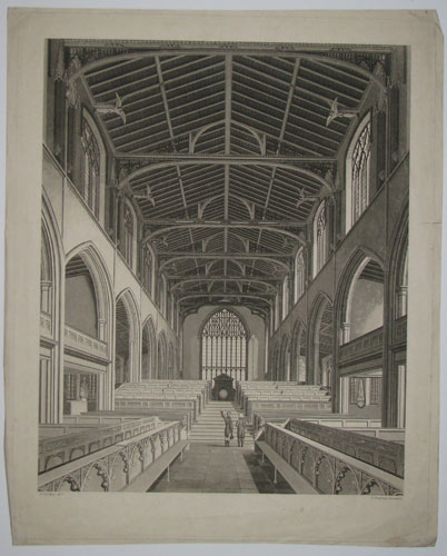 [Internal View of St. Nicholas' Chapel, Lynn.]