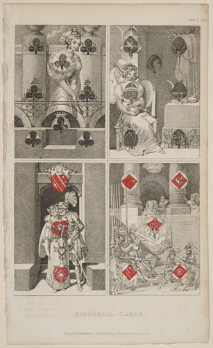 [Playing cards] Pictorial Cards.