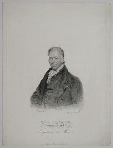 Thomas Bewick. Engraver on Wood.