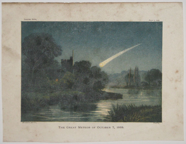 The Great Meteor of October 7, 1868.