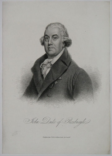 John Duke of Roxburghe.