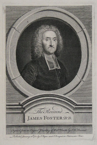 The Reverend James Foster. D.D.