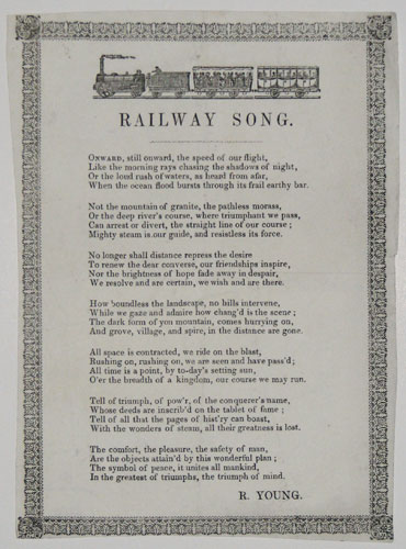 Railway Song.