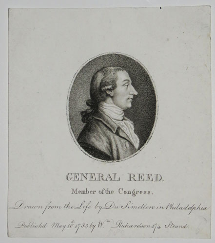 General Reed,  Member of the Congress.
