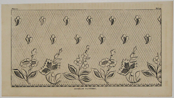 [Set of five.] Muslin Patterns.