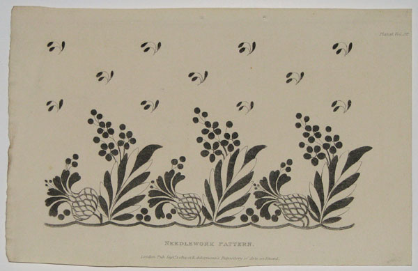 [Set of eight Needlework Patterns.]