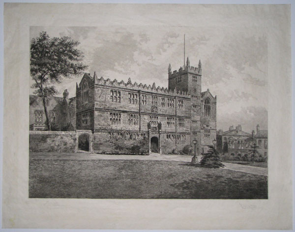 [Shrewsbury, Exterior of the Old School.]
