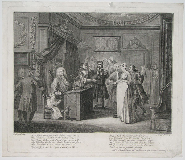 [Magistrate and Recognition of the Child's Father.]