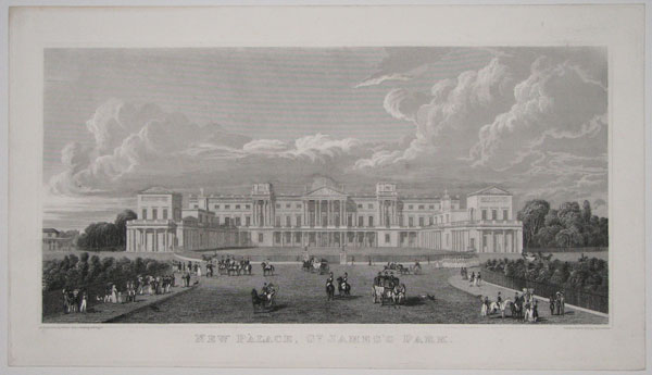 New Palace, St. James's Park.