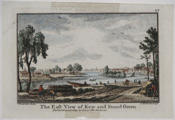 The East View of Kew and Strand Green.