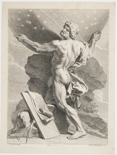 [Zeus as God of the Heavens.]