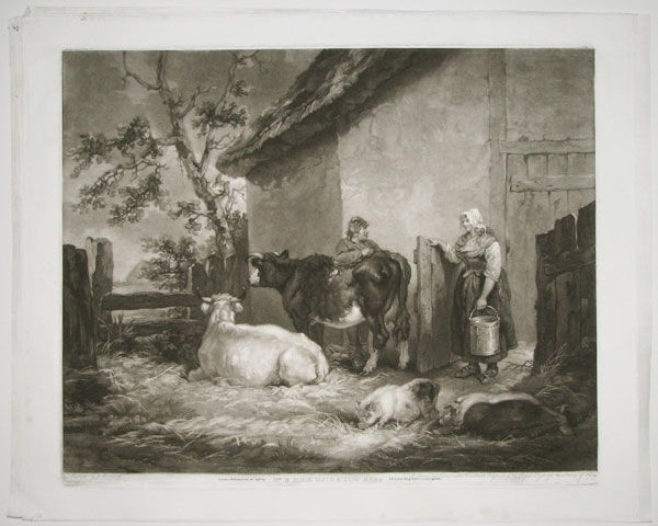No 9. Milk Maid & Cow Herd.