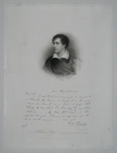 [George, Lord Byron.]