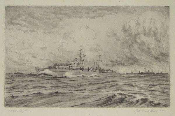 H.M.S. Scylla [in pencil].