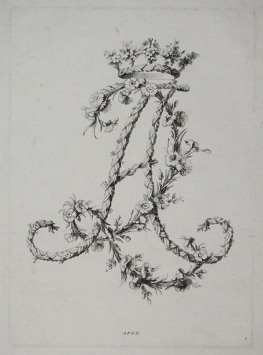 [Decorative monogram - initials A and R, entwined.]