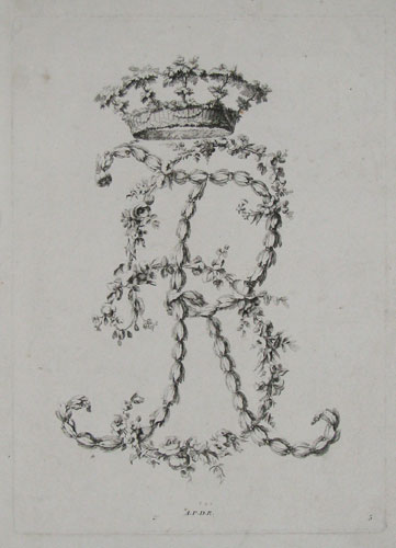 [Decorative monogram - initials R and S, entwined.]