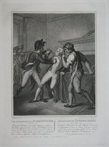 The Apprehension of Robespierre.... [&] The Death of Robiespierre...