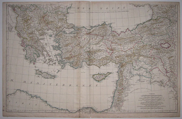 [Untitled map of the Levant.]