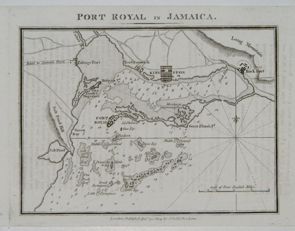 Port Royal in Jamaica.