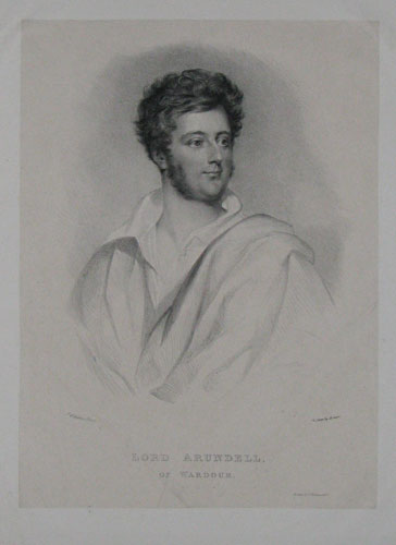 Lord Arundell of Wardour.