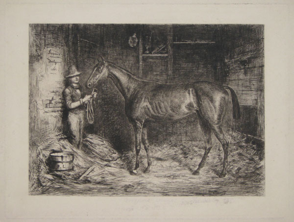 """Iroquois"" Winner of ""The Derby"" 1881. [in pencil under image.]"
