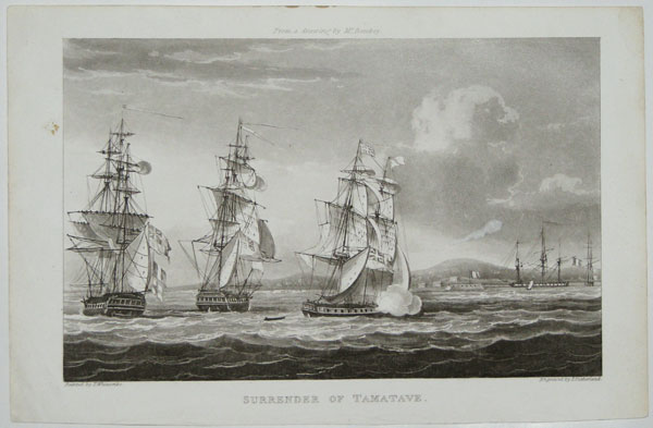 Surrender of Tamatave.
