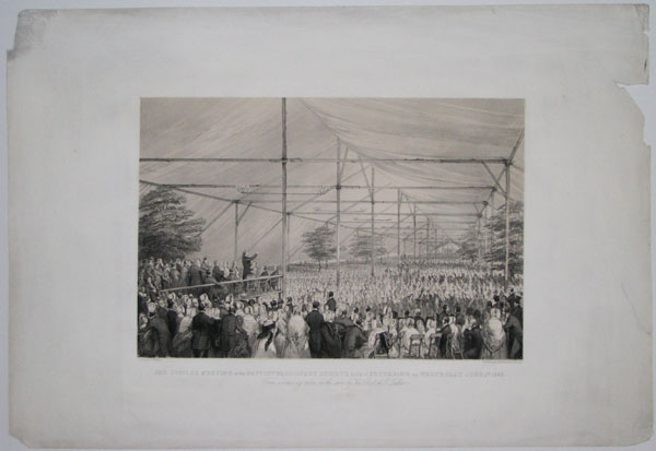 The Jubilee Meeting of the Baptist Missionary Society, held at Kettering (Northampton) on Wednesday June 1st. 1842.