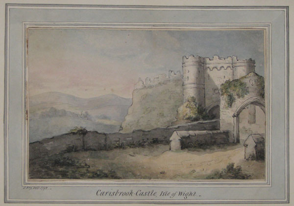 Carisbrook-Castle, Isle of Wight.