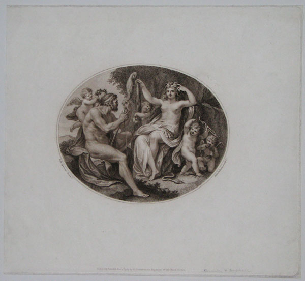 [Hercules and Omphale.]