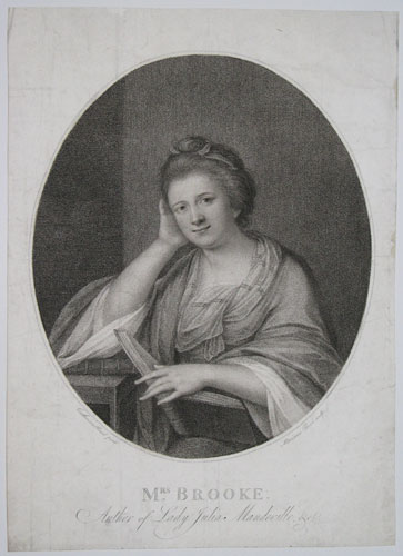 Mrs Brooke. Author of Lady Julia Mandeville, &c.
