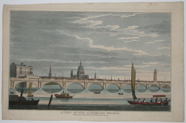 A View of the Waterloo Bridge.