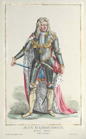 Jean Marbourough.  General Anglois.  d'Apres Wenderf.