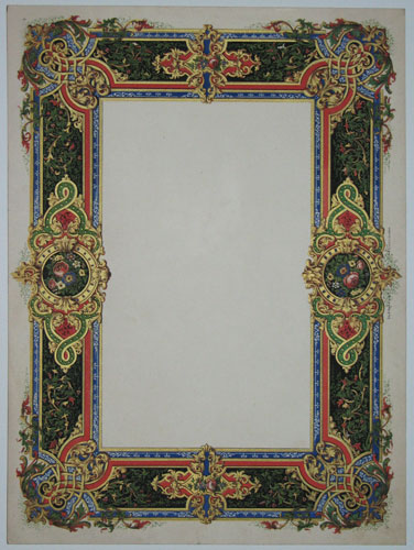 [Decorative printed frame.]