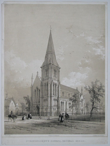 St. Bartholomew's Church, Bethnal Green.
