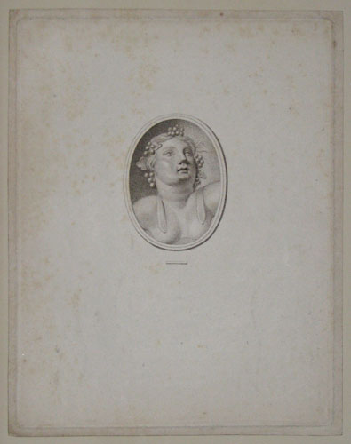 [Bacchus; a classical cameo]