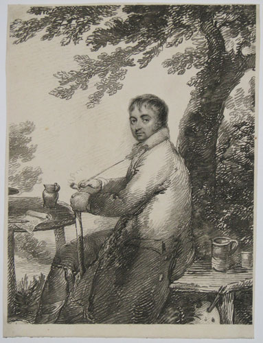 [Self portrait by George Morland.]