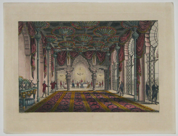 [Dining Room, Royal Pavilion, Brighton.]
