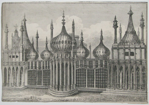 [The East Front, Royal Pavilion, Brighton.]