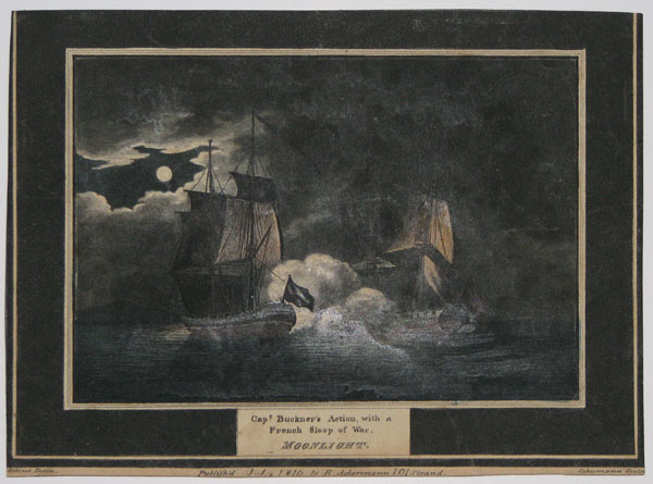 Capt. Buckner's Action, with a French Sloop of War.